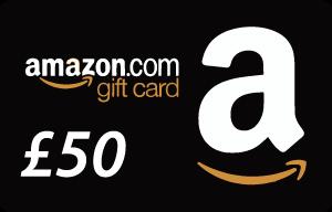 Amazon £50 Voucher Offer